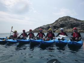Sea Kayaking Stag Do