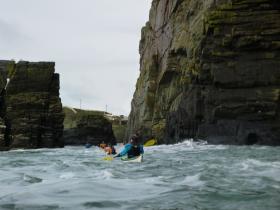 Moderate Water Sea Kayaking