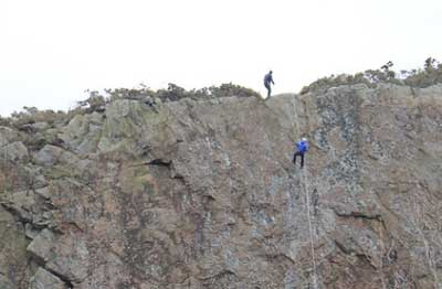 Abseiling Anglesey